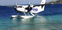 Pesawat N219 Amphibious Version yang bisa mendarat di air dan di darat