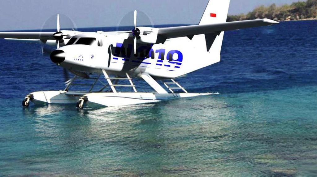 Rancangan Dimatangkan, N219 Amfibi Bisa Terbang di 2019