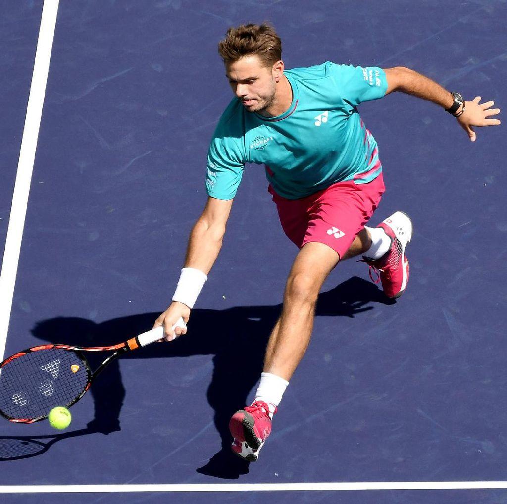 Wawrinka Jumpa Federer di Final