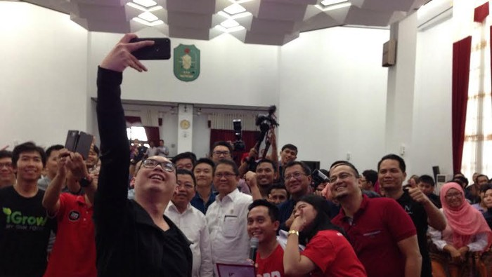 Suasana acara 1.000 Startup di Pontianak. Foto: Agus/inet