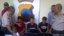Komplotan Pencuri Bermodus Pecah Kaca Mobil Dibekuk di Semarang