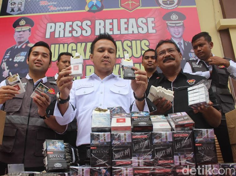 Home Industry Rokok Ilegal di Tanggulangin Digerebek