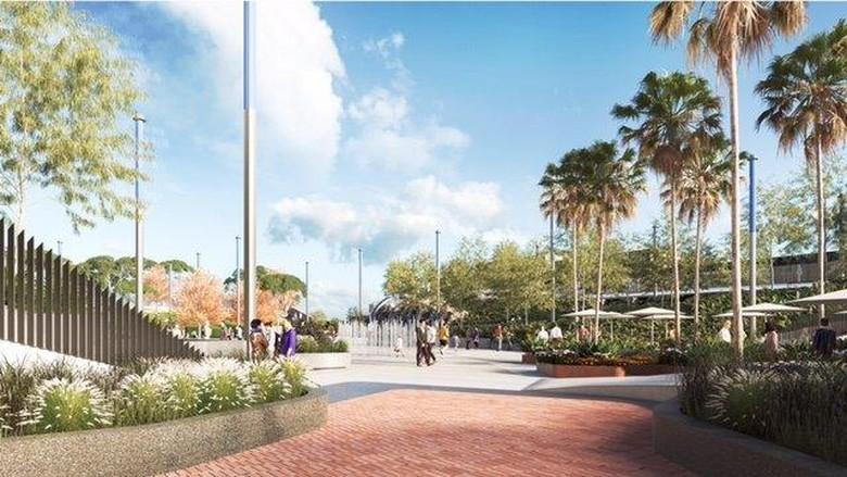 Lapangan Parkir Diubah Jadi Taman Senilai Rp 600 M di Melbourne