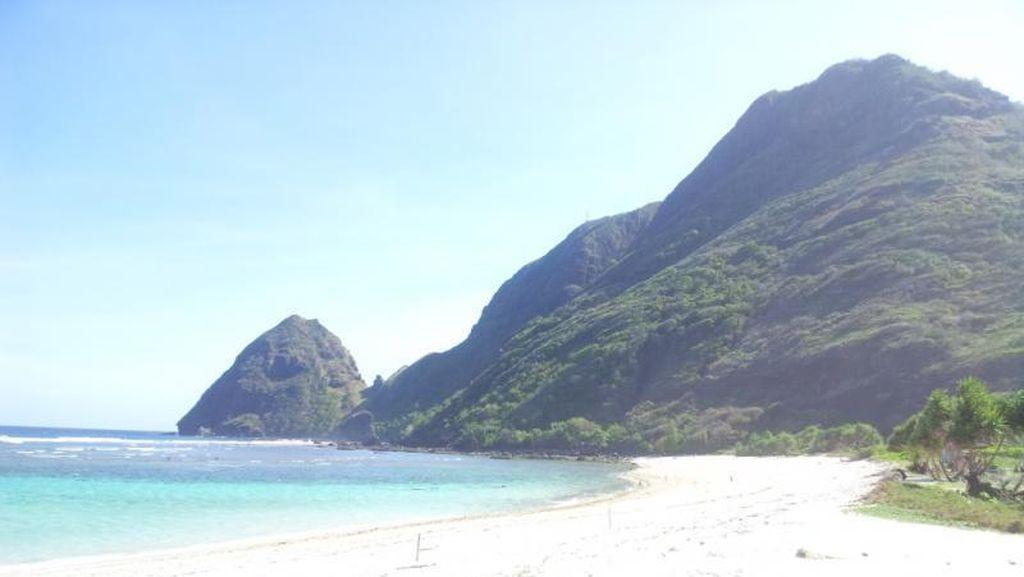 Plesir ke Pantai Tropical di Pulau Sumbawa, Ada Punuk Untanya!