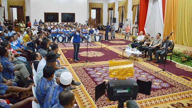 Bertemu Gubernur Jatim, Sopir Angkot: Kami Tidak Ingin Kekerasan