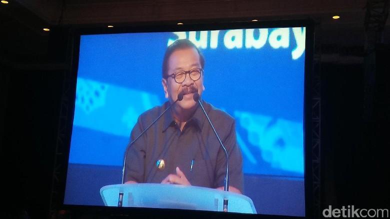 Pakde Karwo Bicara Pentingnya Restorasi Pancasila di Acara NasDem