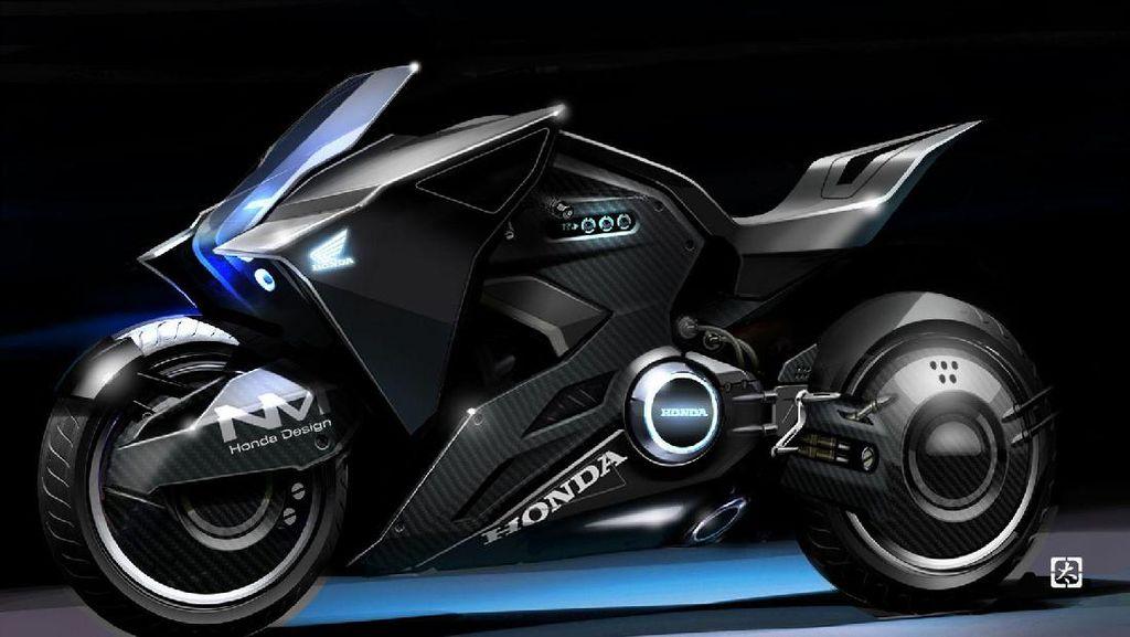 Konsep Honda NM4 Futuristik untuk Film Ghost In The Shell