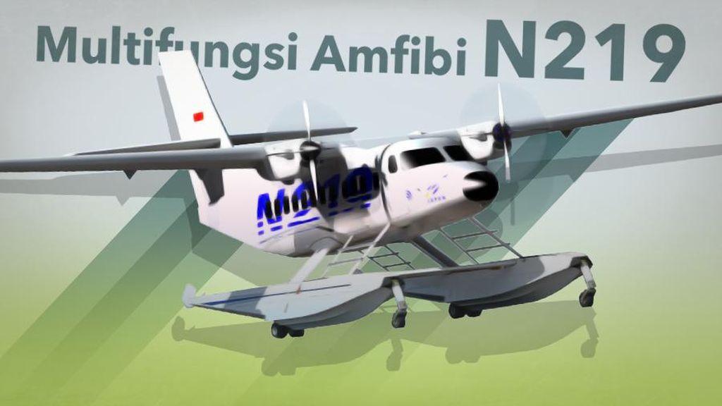 Mengintip Kecanggihan Pesawat N219 Amfibi Buatan PTDI