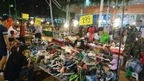 Potret Pasar Malam Udon Thani Thailand, Tempatnya Anak Muda Jalan-jalan