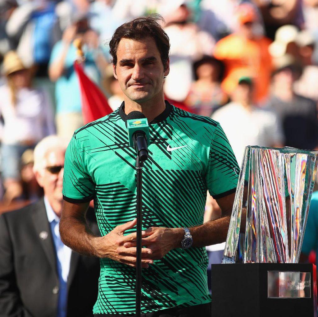 Federer Menatap Miami Terbuka