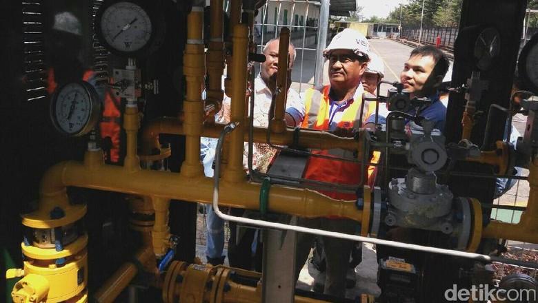 PGN Pasok Gas ke Pabrik Sari Roti di Semarang