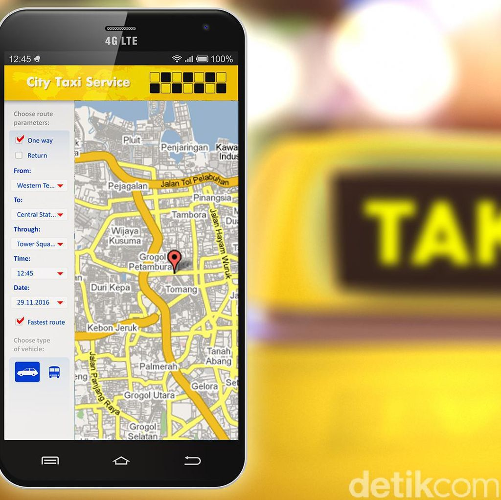 Atur Tarif Taksi Online, Kemenhub: Kami Tidak Anti Teknologi