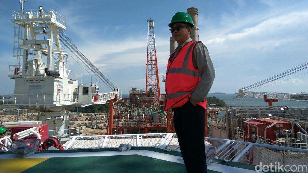 Gas dari Kapal Jangkrik Bisa Terangi Ribuan Rumah