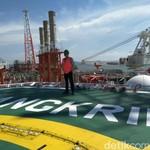 Kapal Jangkrik yang Diresmikan Jonan Akan Produksi Gas 450 MMSCFD