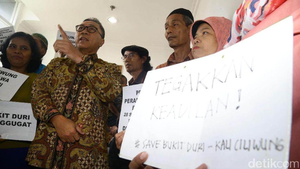 Ketua MPR Hadiri Sidang Gugatan Warga Korban Gusuran Bukit Duri