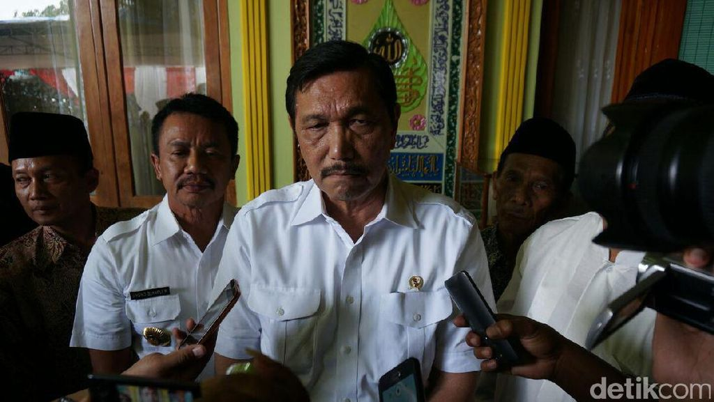 Luhut: Jangan Lagi Ada Menteri yang Berurusan dengan Kuningan