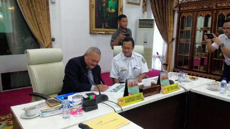 2 Unit Kereta LRT Dijadwalkan Tiba di Palembang pada April 2018