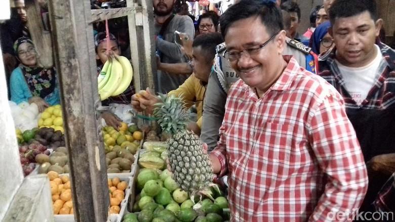 Djarot akan Bangun Apartemen di Atas Pasar Jelambar Jakbar