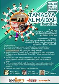 Muncul Tamasya Al Maidah, Polda Metro Jaya: TPS Sudah Dijaga Polisi