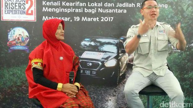 Risers Datsun Eksplorasi Seni Bertutur Sinrilik Khas Makassar