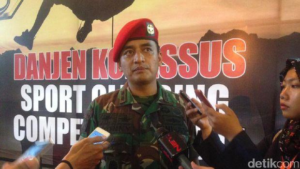 Danjen Kopassus Mayjen TNI Madsuni