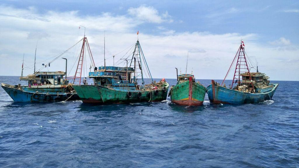 Susi Kejar Pelaku Pemalsuan Berat Kapal