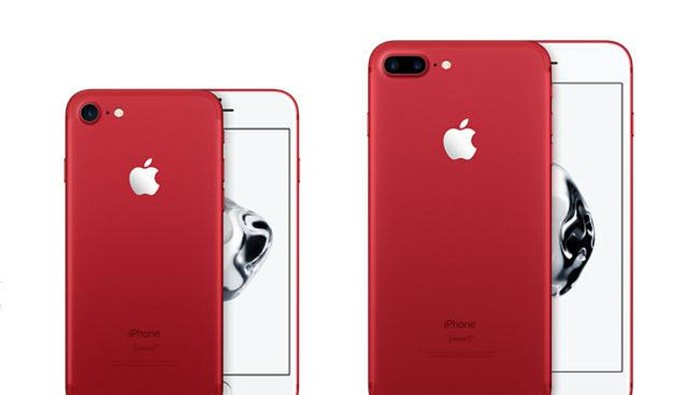 Sedih! iPhone 7 Merah Ternyata Gampang Tergores