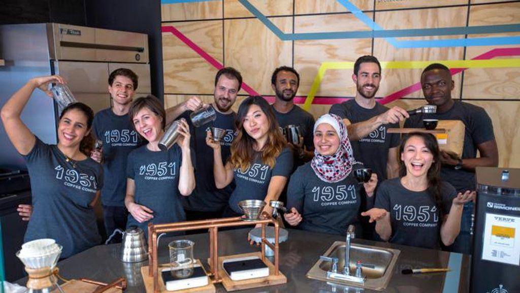 Coffee Shop Ini Sediakan Pelatihan dan Pekerjaan bagi Para Pengungsi