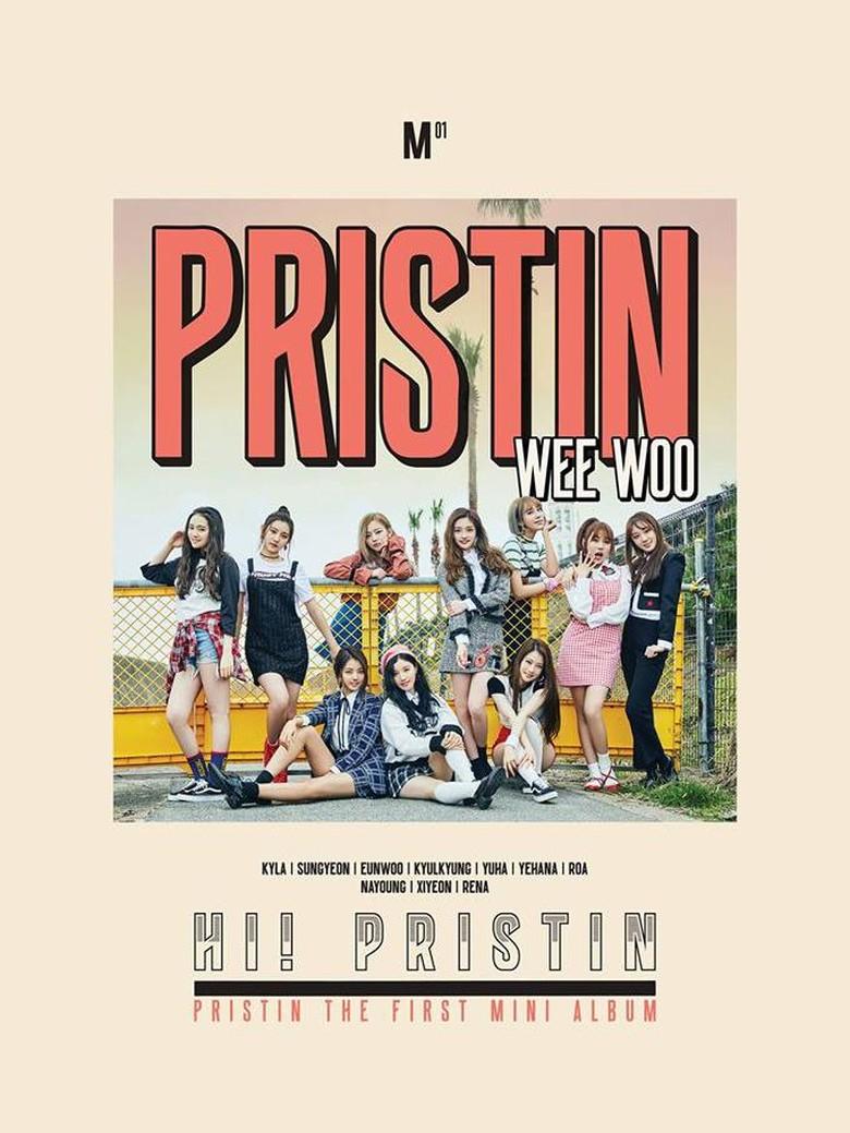 Pristin Tampil Ceria di Musik Video Debut Wee Woo