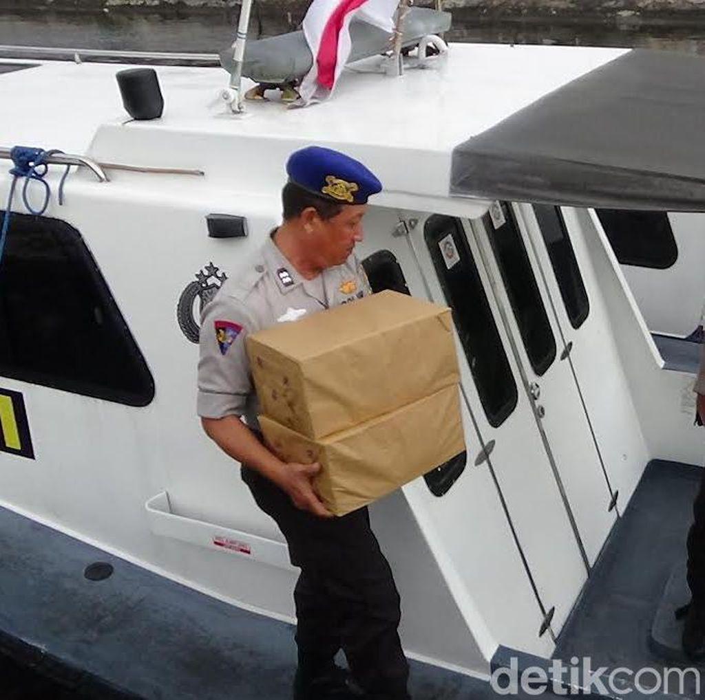 Kapal Antar Pulau Selundupkan Rokok Ilegal Tujuan Merauke Digagalkan