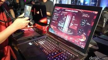 Lebih Dekat dengan Laptop Rp 95 Juta Jagoan Asus