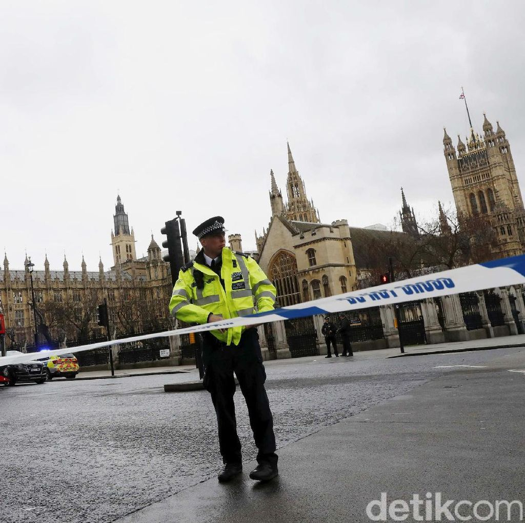 Korban Tewas Penembakan di London Jadi Empat, Salah Satunya Polisi