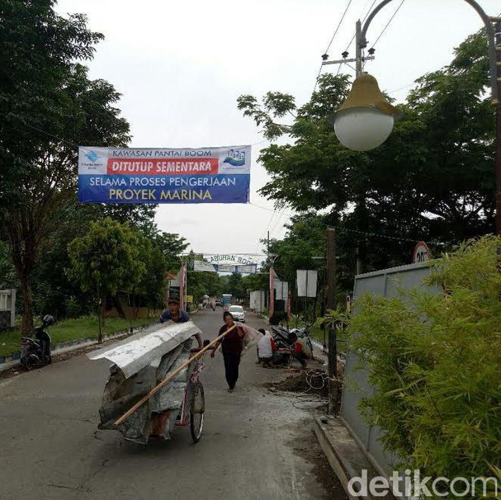 Pantai Boom Banyuwangi Ditutup untuk Proyek Pelabuhan Marina