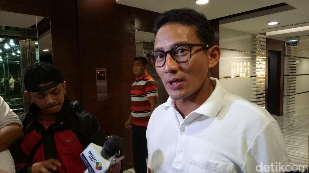 Anies Masuk Bursa Capres 2019, Sandiaga: Kami Solid