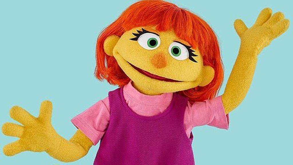 Kenalkan Ini Julia, Boneka Gadis Cilik dengan Autisme