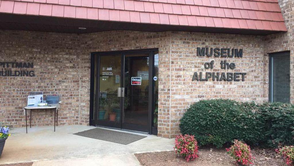 Ternyata Ada Museum Huruf di Amerika