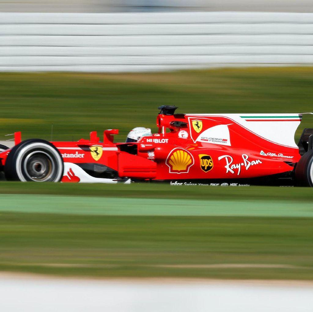 Gina, Nama Mobil Vettel Musim Ini