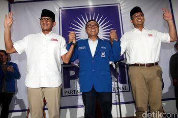 PAN Dukung Anies-Sandi