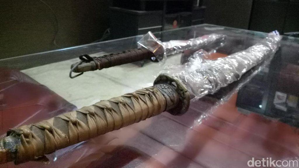 Kisah 2 Pedang Samurai Tak Bernama di Monpera Palembang