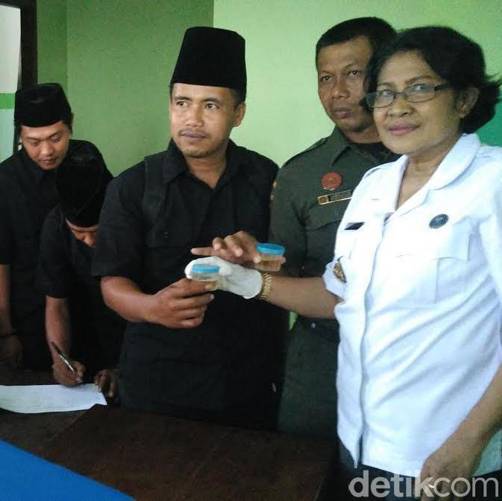 Anggota Ansor dan Banser Jatim Dites Urine BNN
