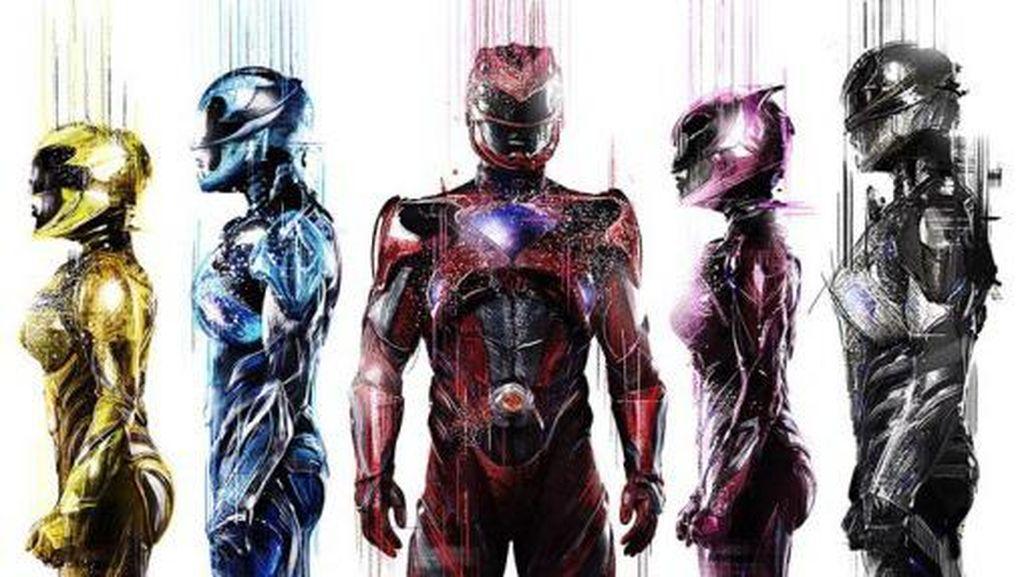 Power Rangers Muncul Kembali Melawan Monster Emas
