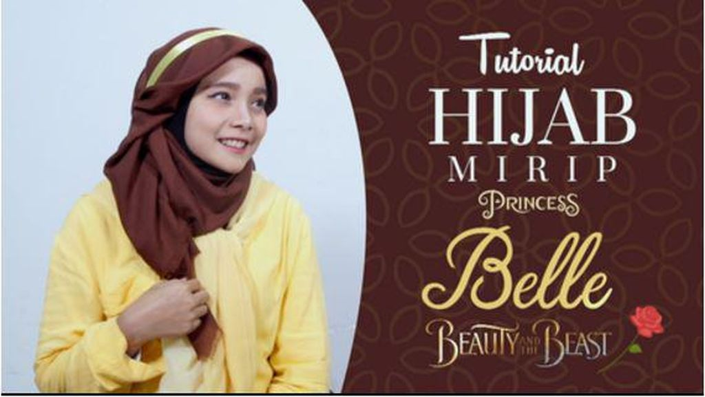 Video: Tutorial Hijab Mirip Princess Belle