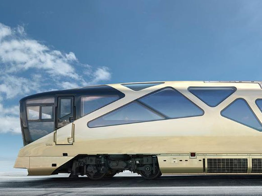 Jepang Bakal Punya Kereta Super Mewah Bintang 5, Seperti Apa?