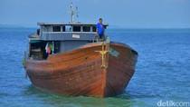 TNI AL Tangkap Kapal yang Tak Miliki Izin di Selat Singapura