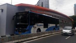 Juni, Warga Ciledug Bisa Naik Busway Layang ke Tendean