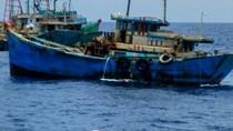KP Hiu Macan Tangkap 13 Kapal Ikan Berbendera Vietnam di Natuna