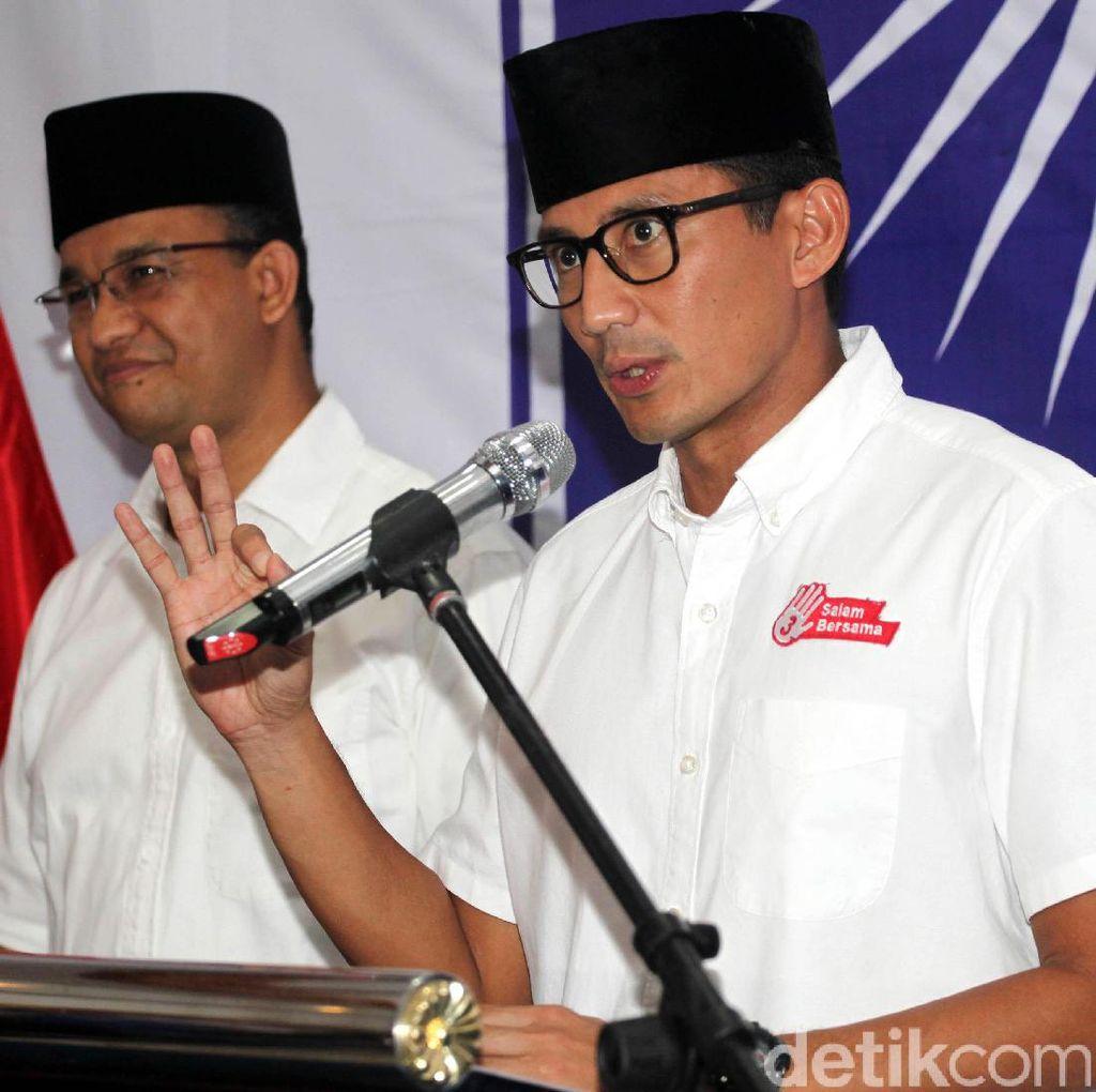 Sandiaga: Pertemuan Prabowo dan SBY sedang Diatur