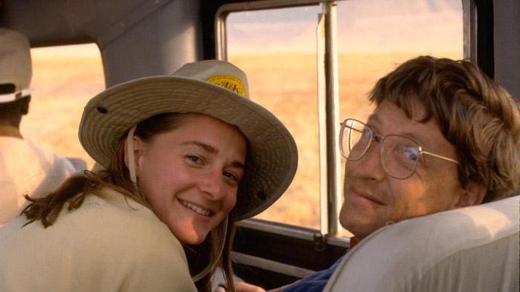 Bill Gates dan Melinda, Kemesraan Pasangan Seribu Triliun!