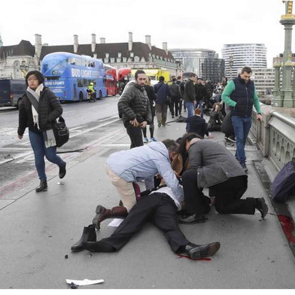 Pemimpin Dunia Kutuk Serangan Teror di London