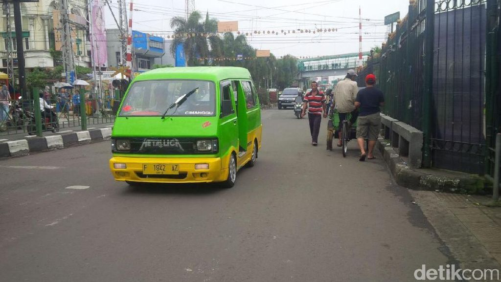 Angkot di Bogor Kembali Beroperasi Hari ini